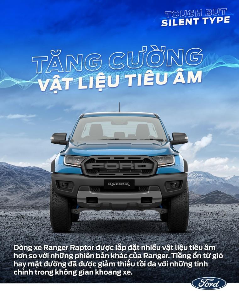 Vì Sao Ford Ranger Raptor Có Thể Thỏa Sức Chinh Phục Mọi Địa Hình? ảnh 4