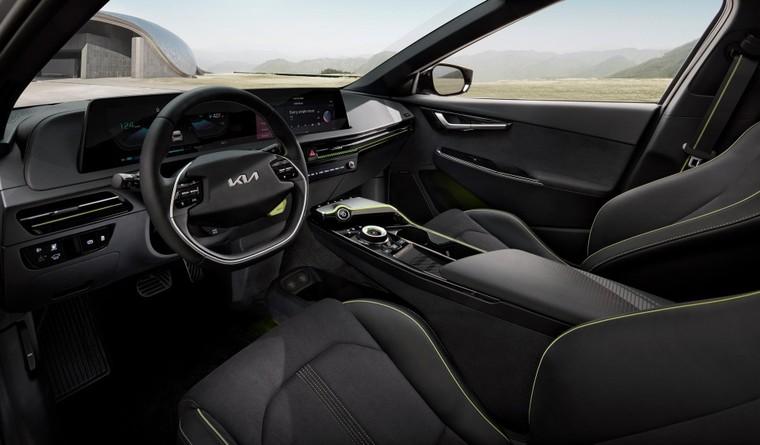 Kia EV6 ra mắt, mạnh hơn Porsche Taycan ảnh 3