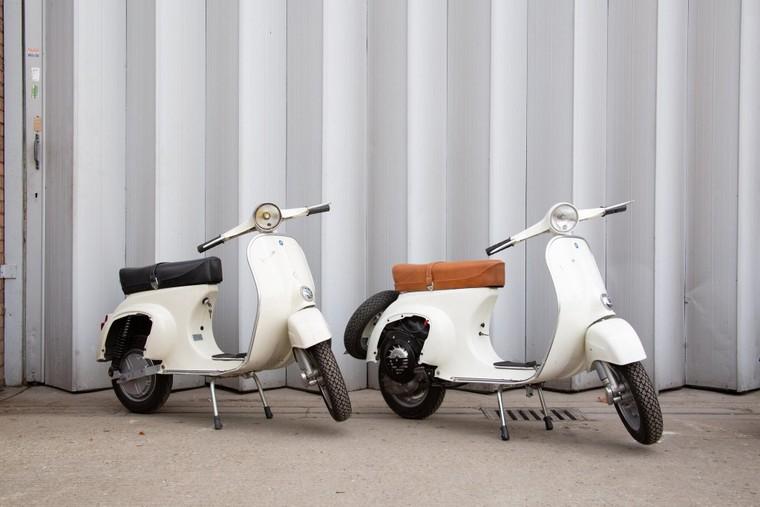 """Retrospective Scooters giới thiệu bộ """"kits"""" điện dành cho những chiếc Vespa và Lambrettas ảnh 1"""