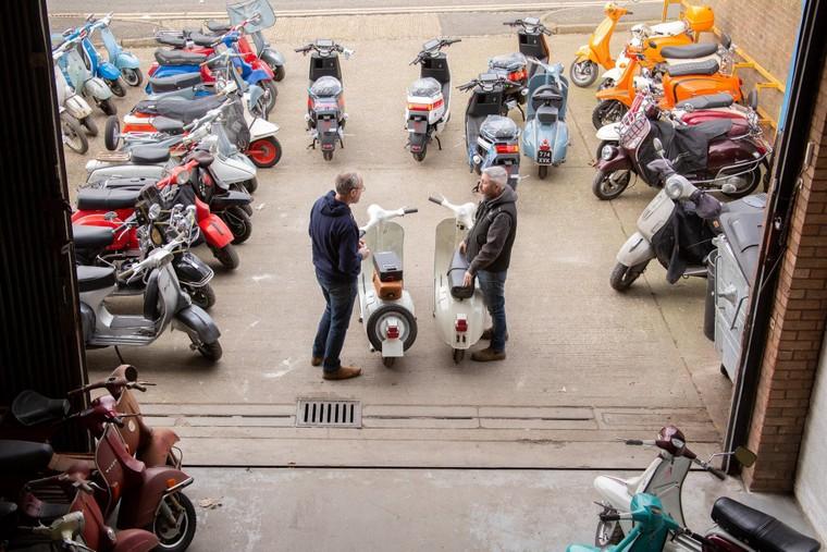 """Retrospective Scooters giới thiệu bộ """"kits"""" điện dành cho những chiếc Vespa và Lambrettas ảnh 2"""