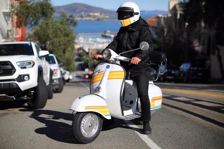 """Retrospective Scooters giới thiệu bộ """"kits"""" điện dành cho những chiếc Vespa và Lambrettas ảnh 6"""