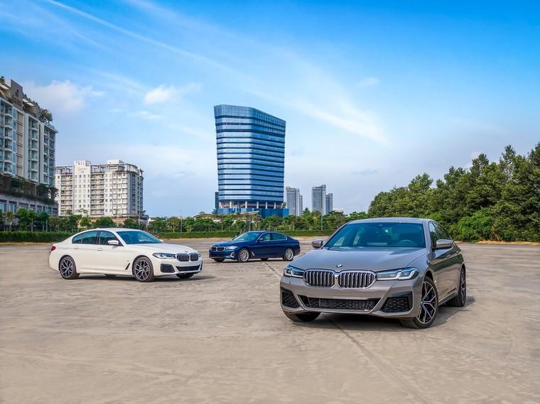 BMW 5 Series mới chính thức ra mắt tại Việt Nam ảnh 12