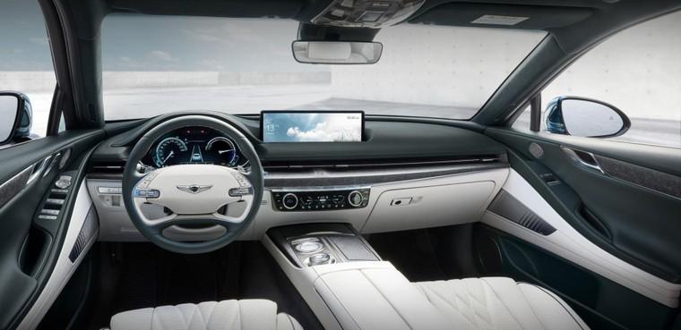 Ô tô điện Genesis G80 có sức mạnh 385 mã lực và khả năng di chuyển gần 500km ảnh 3