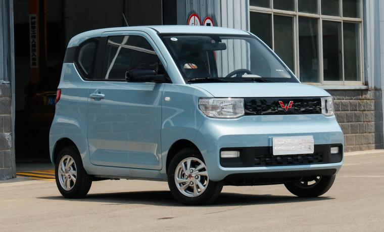 Wuling Hongguang Mini EV, chiếc xe điện bán chạy nhất trên thế giới, ra mắt bản mui trần ảnh 2