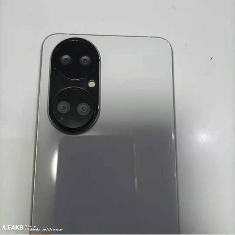 Hình ảnh thực tế của Huawei P50 với thiết kế camera 'Dual-Lôp' ảnh 2