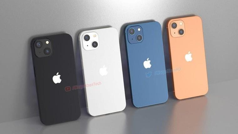 Hình ảnh kết xuất mới nhất của iPhone 13 ảnh 1