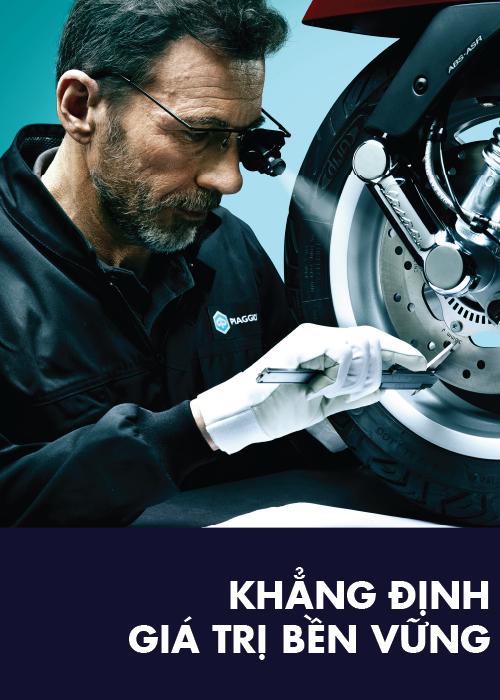 Piaggio Việt Nam cam kết mạnh mẽ về độ tin cậy của sản phẩm Piaggio ảnh 4