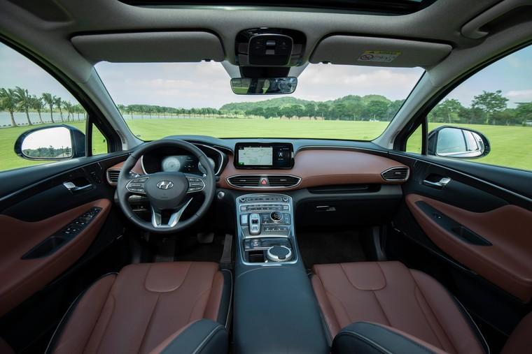 Hyundai Santa Fe 2021 chính thức ra mắt, 6 phiên bản, giá từ 1,03 tỷ ảnh 5