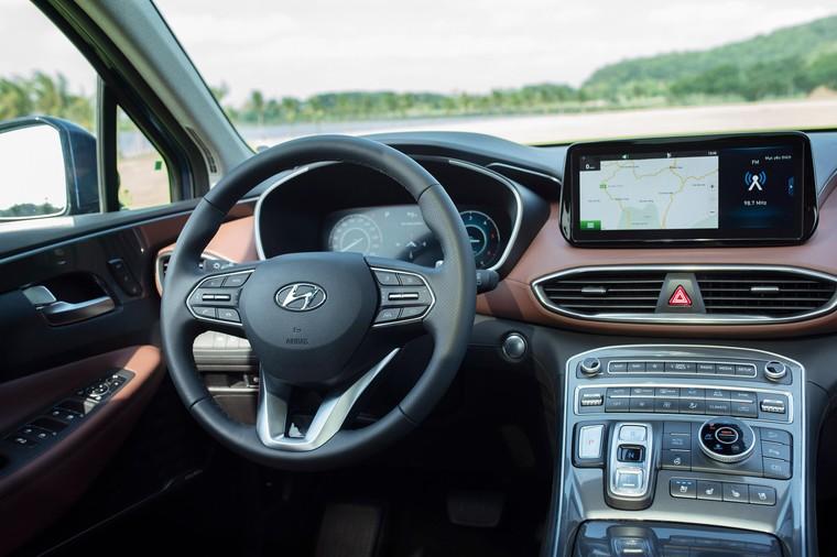Hyundai Santa Fe 2021 chính thức ra mắt, 6 phiên bản, giá từ 1,03 tỷ ảnh 12