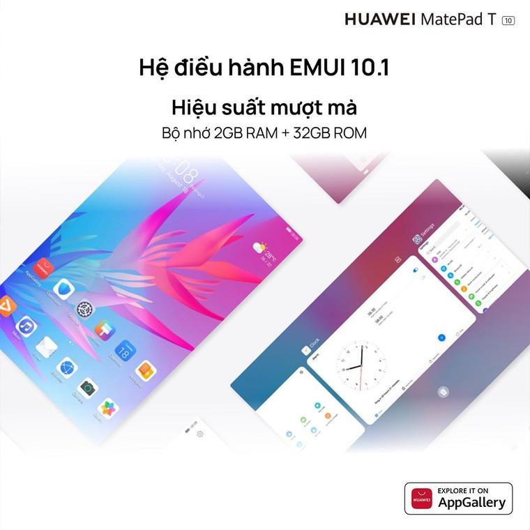 Huawei MatePad T 10 chính thức ra mắt tại thị trường Việt Nam, giá 3,9 triệu Đồng ảnh 1