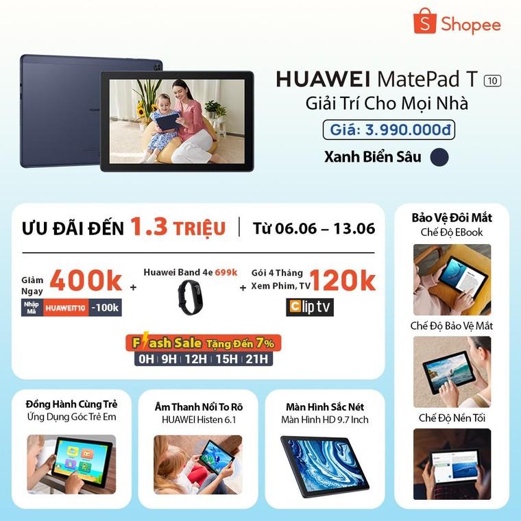 Huawei MatePad T 10 chính thức ra mắt tại thị trường Việt Nam, giá 3,9 triệu Đồng ảnh 11