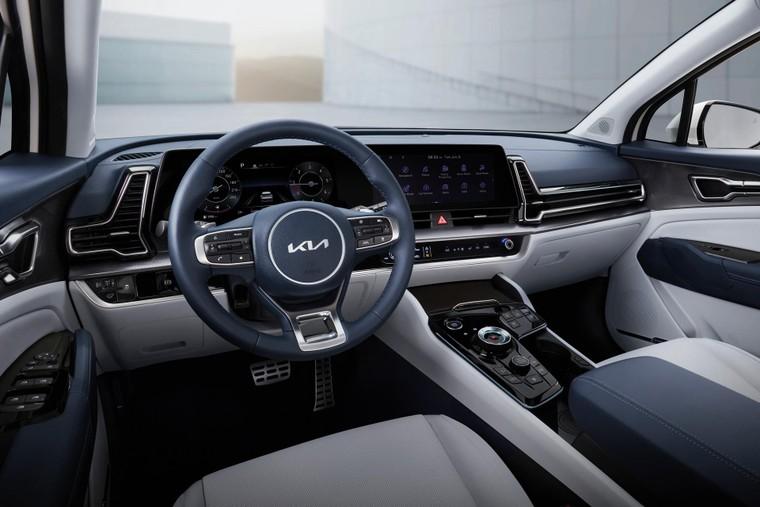 Kia Sportage 2022 ra mắt với kiểu dáng mới táo bạo, nội thất được cải tiến ảnh 4