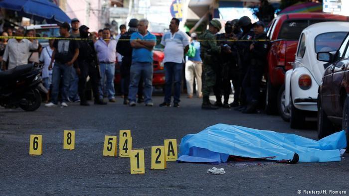 Mexico có số vụ giết người cao nhất trong nhiều thập kỷ ảnh 1