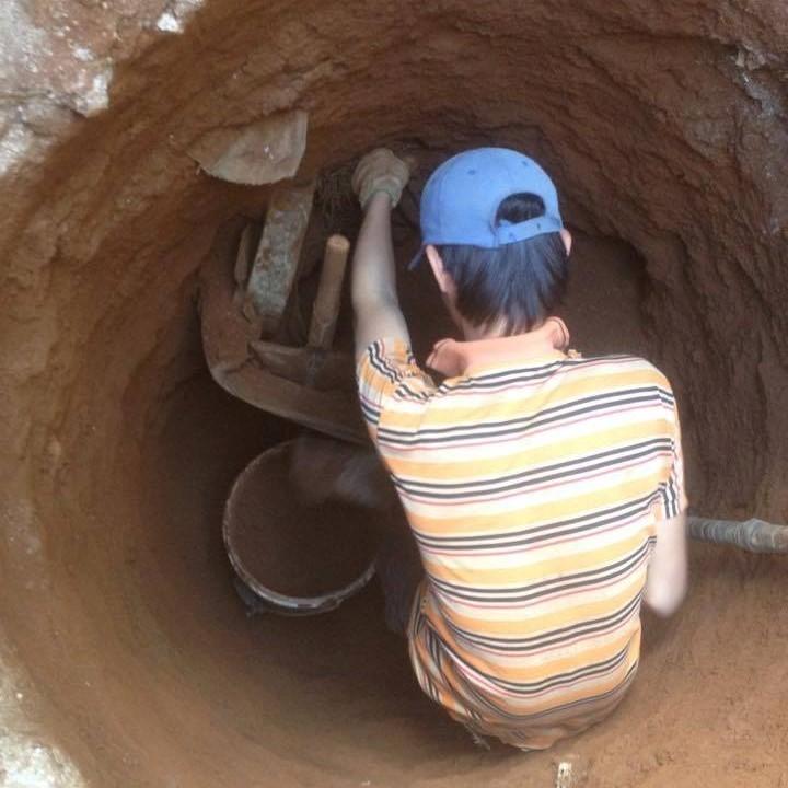 Đời phu đào giếng - Kỳ 2: Nỗi niềm người đi tìm nước ảnh 2
