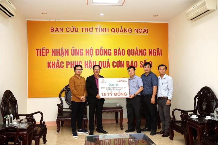 Tập đoàn Hưng Thịnh ủng hộ 3 tỷ đồng hỗ trợ đồng bào bị thiệt hại do bão số 9 tại Quảng Nam và Quảng Ngãi ảnh 2