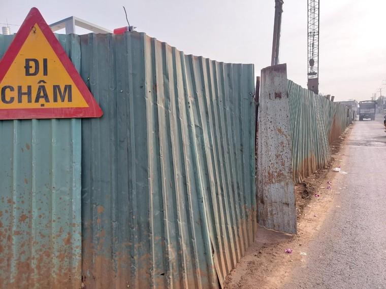 Đồng Nai: Lại dừng thi công cầu vượt Dầu Giây ảnh 2
