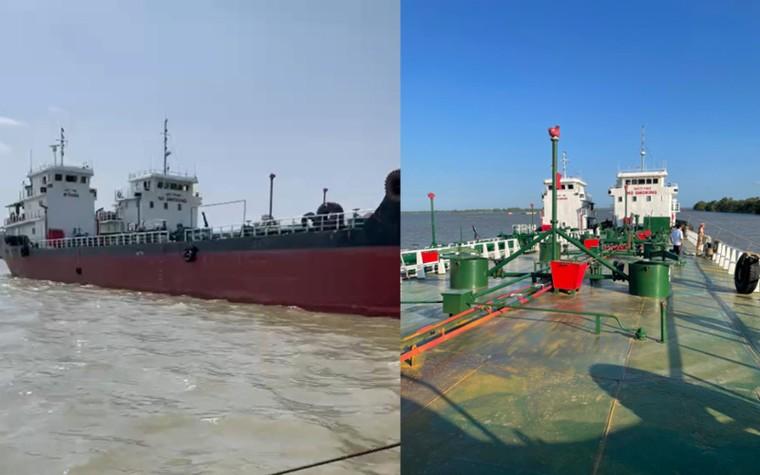Đồng Nai: Bắt 2 thuyền trưởng bỏ trốn trong chuyên án buôn lậu xăng giả ảnh 2