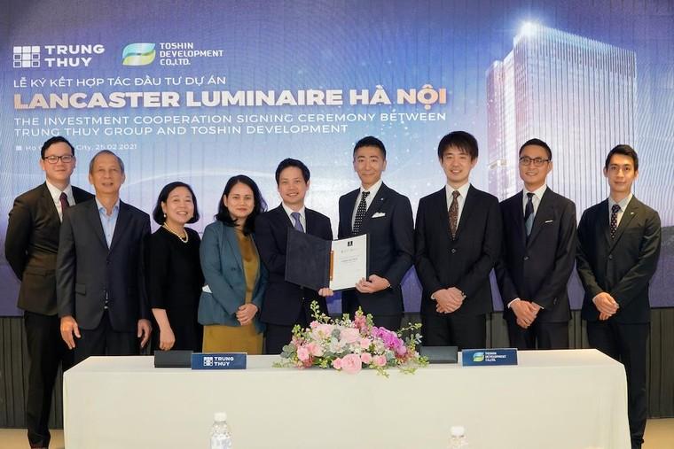Hà Nội: Tập đoàn Takashimaya bắt tay cùng Trung Thủy đầu tư Dự án phức hợp Lancaster Luminaire ảnh 1