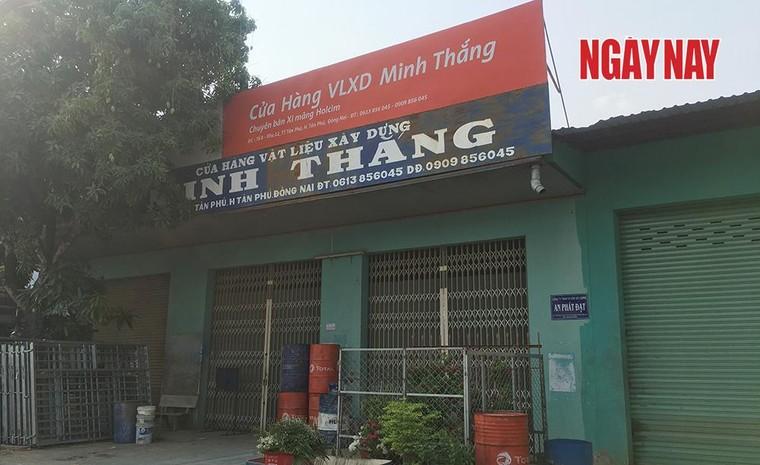Dự án chống sạt lở xảy ra sạt lở tại Đồng Nai: Sở NN&PTNT giao dự án cho công ty không trụ sở?! ảnh 4