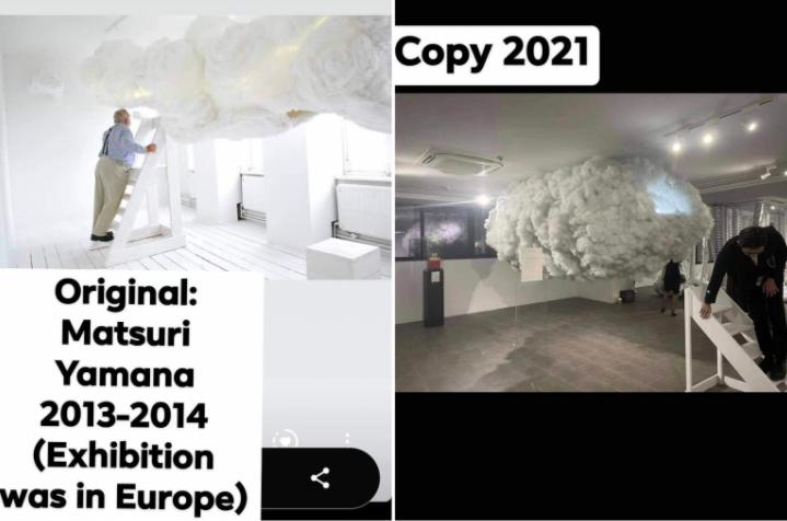 Nghi vấn một số tác phẩm trong triển lãm 'Plus by Bao Nam' đạo ý tưởng của nghệ sỹ quốc tế ảnh 5