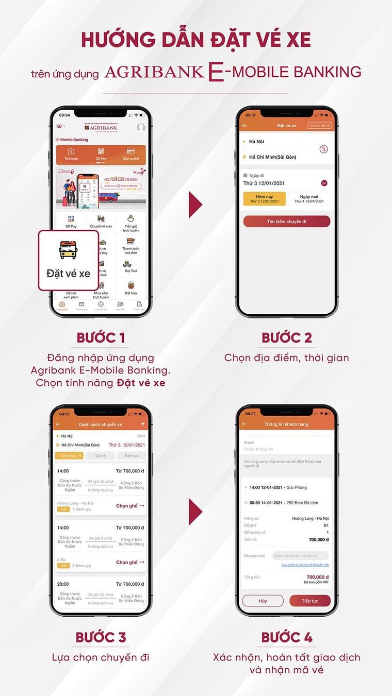 Đặt vé xe khách trên ứng dụng Agribank E-Mobile Banking, nhận hoàn tiền lên đến 50% ảnh 1