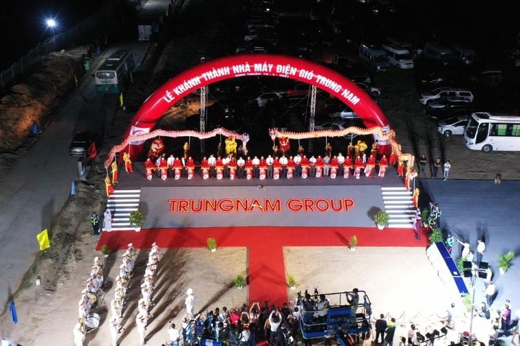 Trung Nam Group khánh thành Nhà máy điện gió lớn nhất Việt Nam ảnh 1