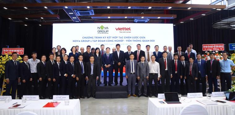 NovaGroup và Viettel hợp tác thúc đẩy chuyển đổi số ảnh 1