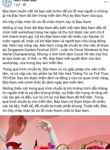 Bảo Nam xin lỗi vụ đạo ý tưởng, thừa nhận mắc sai lầm khủng khiếp ảnh 2