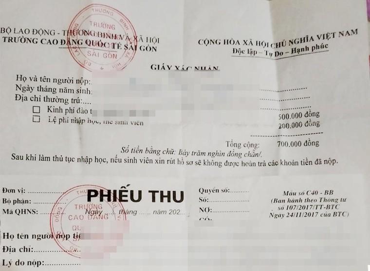 Trường Cao đẳng Quốc tế Sài Gòn 'mập mờ đánh lận' Bằng tốt nghiệp? ảnh 3