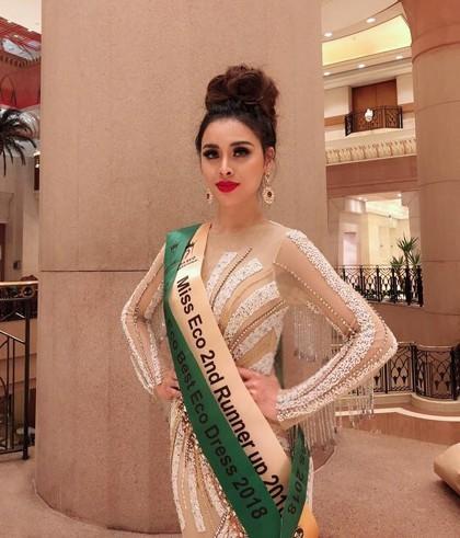 Thư Dung bị thu hồi danh hiệu á hậu Miss Eco International ảnh 1