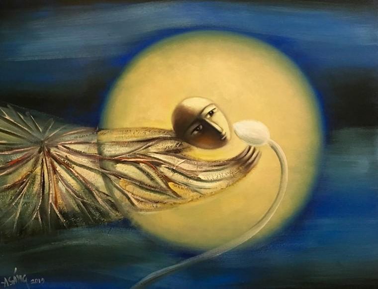 Hoạ sĩ Hoàng A Sáng: Được vẽ mỗi ngày là một ân huệ, sự may mắn của cuộc sống ban tặng ảnh 3