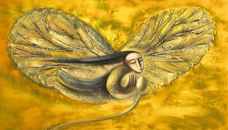 Hoạ sĩ Hoàng A Sáng: Được vẽ mỗi ngày là một ân huệ, sự may mắn của cuộc sống ban tặng ảnh 4