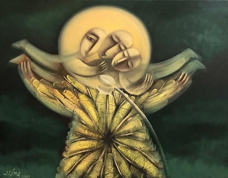 Hoạ sĩ Hoàng A Sáng: Được vẽ mỗi ngày là một ân huệ, sự may mắn của cuộc sống ban tặng ảnh 6