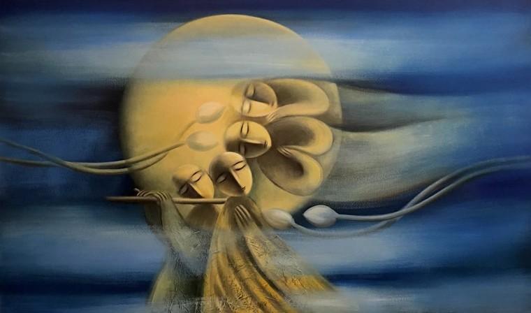 Hoạ sĩ Hoàng A Sáng: Được vẽ mỗi ngày là một ân huệ, sự may mắn của cuộc sống ban tặng ảnh 7