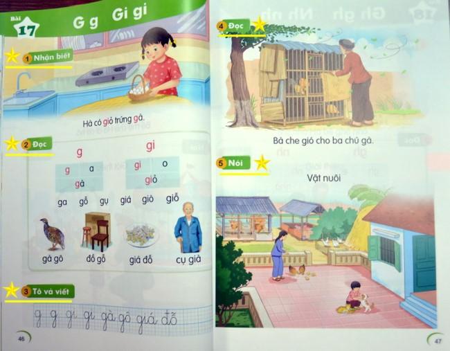 Những điểm mới trong SGK Tiếng Việt lớp 1 ảnh 1