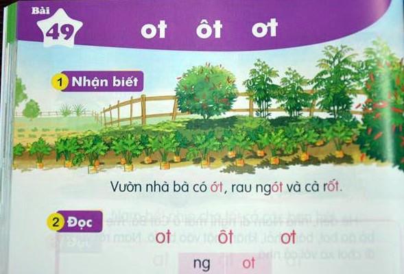 Những điểm mới trong SGK Tiếng Việt lớp 1 ảnh 2
