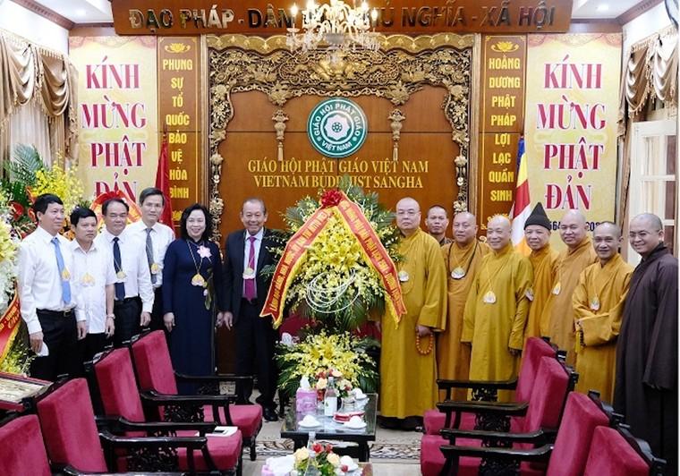 Phó thủ tướng Thường trực Trương Hoà Bình chúc mừng Đại lễ Phật đản 2020 ảnh 1