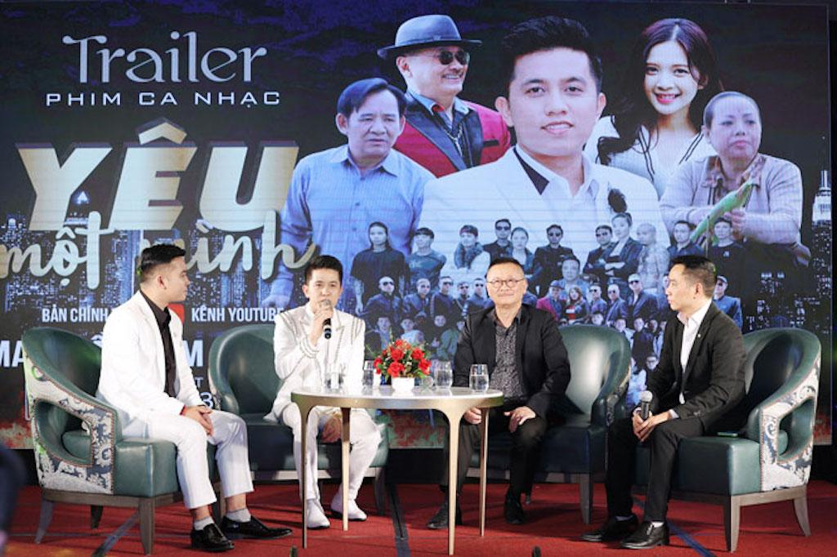 Ca sĩ Mai Trần Lâm ra mắt phim ca nhạc hành động 'Yêu một mình' ảnh 1