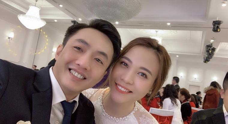 Cường Đô La và Đàm Thu Trang công khai ảnh cưới ảnh 3