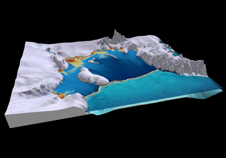 Sự sống được tìm thấy dưới lớp băng vĩnh cửu ở Nam Cực ảnh 1