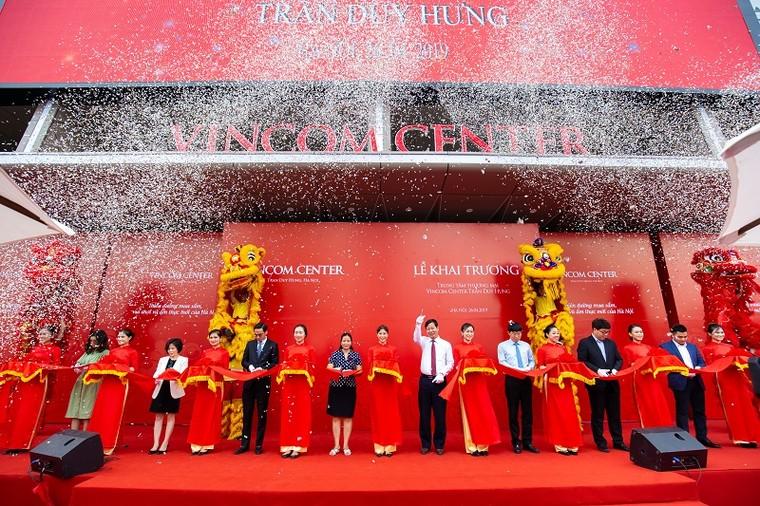 Khai trương Vincom thứ 10 tại Hà Nội ảnh 1