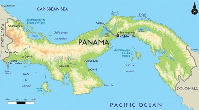 Quốc gia Panama nằm ở đâu?