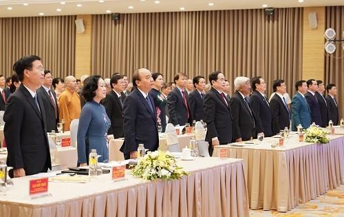 Thủ tướng dự Đại hội Thi đua yêu nước Mặt trận Tổ quốc Việt Nam ảnh 2