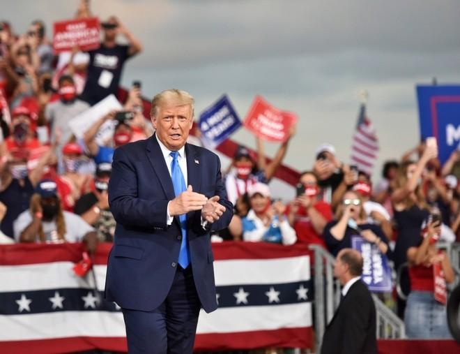 Tổng thống Trump bắt đầu thảo luận chuyện tranh cử năm 2024 ảnh 1