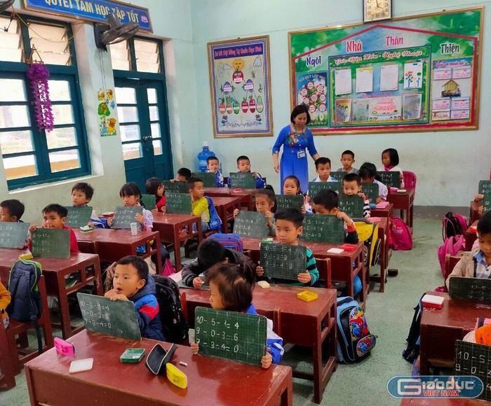 Phụ huynh 'chạy đua' cho con học trước chương trình lớp 1 ảnh 2