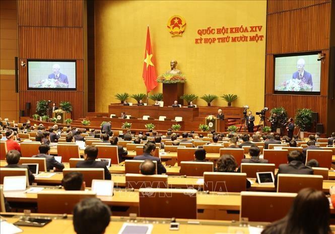 Báo cáo tóm tắt tổng kết công tác nhiệm kỳ 2016 - 2021 của Chủ tịch nước ảnh 1