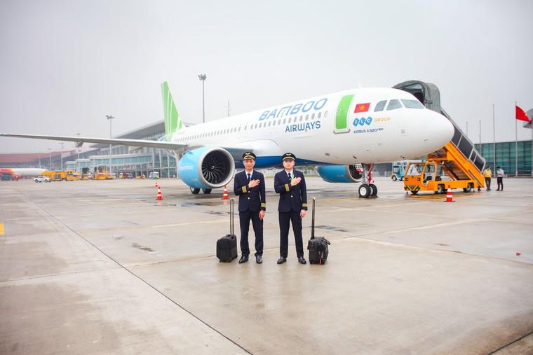 Bamboo Airways đón máy bay A320NEO mới xuất xưởng, tiếp tục mở rộng đội bay ảnh 4