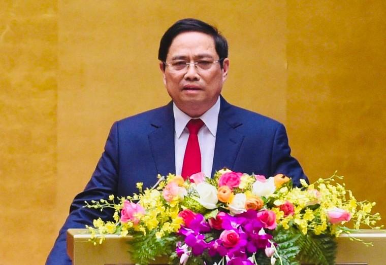 Đồng chí Phạm Minh Chính được đề cử để Quốc hội bầu Thủ tướng ảnh 1
