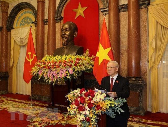 Tổ chức trọng thể lễ bàn giao công tác của Chủ tịch nước ảnh 2