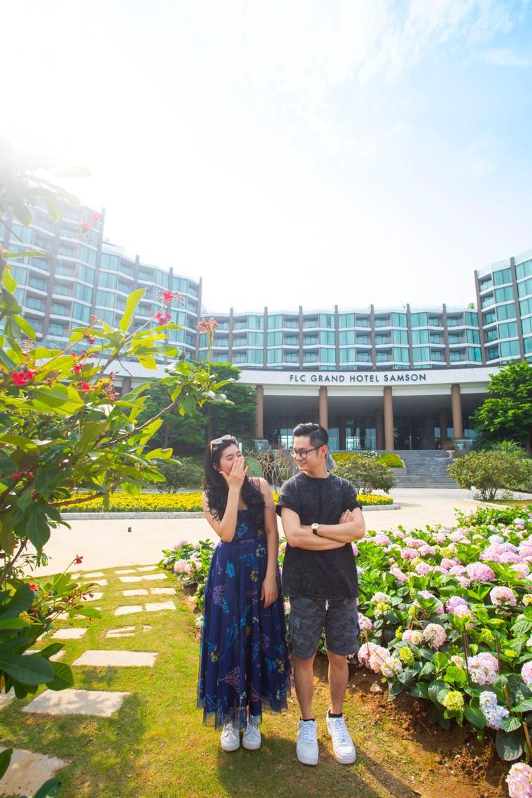 Du khách háo hức check in trước thềm Lễ hội hoa Sầm Sơn ảnh 4